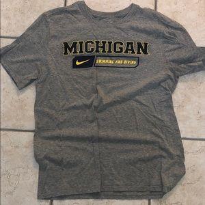 Michigan Swimming and Diving Shirt